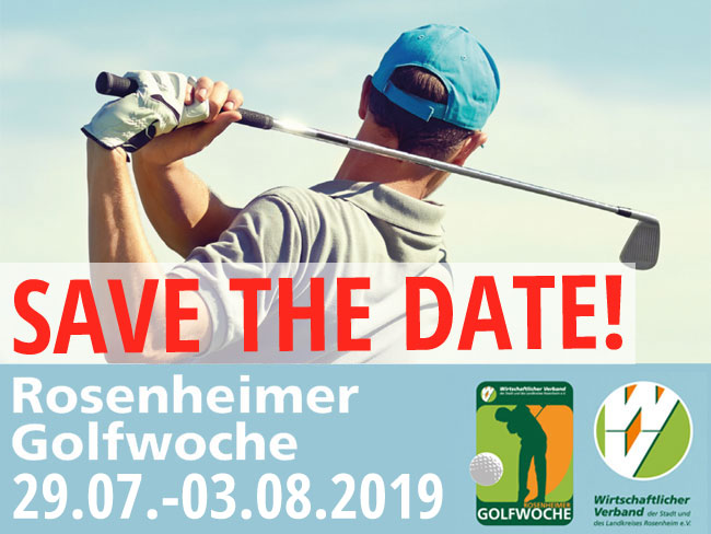 Golfwoche 2019 - Save the date